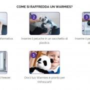 warmies peluche che si scaldano al microonde