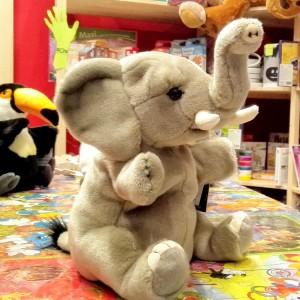 elefantino peluche burattino national geographic