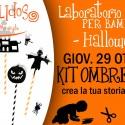 laboratori creativi per bambini halloween