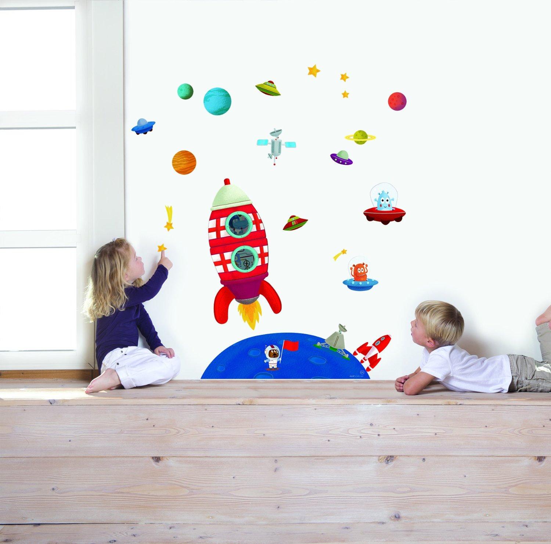 Adesivi camerette come decorare i muri della stanza dei for Decorare muro stanza