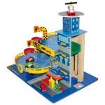 garage macchinine giocattolo legno