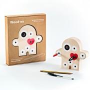 idea regalo per adulti porta penne in legno