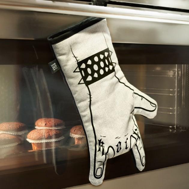 Guanto da Cucina Rock: idea regalo per amanti delle grigliate estive ...