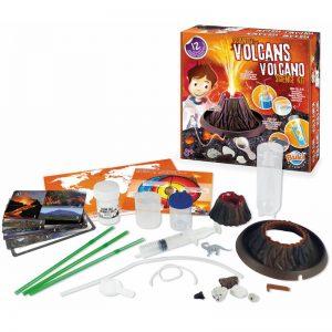 esperimenti scientifici giocattolo vulcani