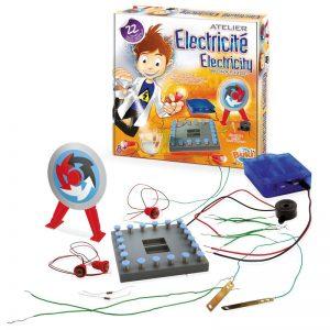 laboratorio di elettricità gioco educativo creativo esperimenti