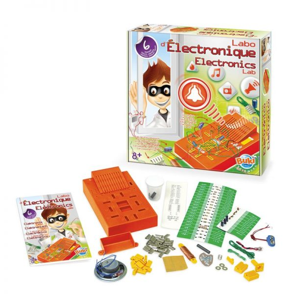 laboratorio di elettronica gioco educativo creativo esperimenti