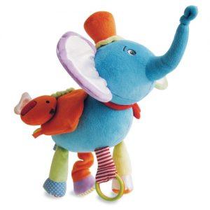 elefante  azzurro